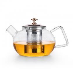 Bình lọc trà 1L tròn deli