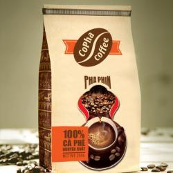 Cafe Pha Phin Cam Đỏ