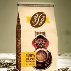 Cafe Pha Phin Vàng