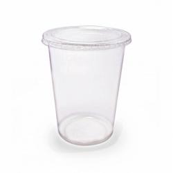 Ly nhựa Pet 900ml + Nắp Nhựa bằng