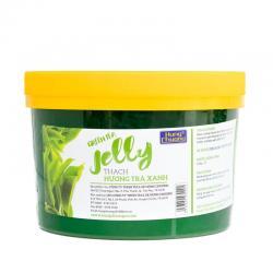 Thạch Jelly Trà xanh 2.2kg Hùng chương